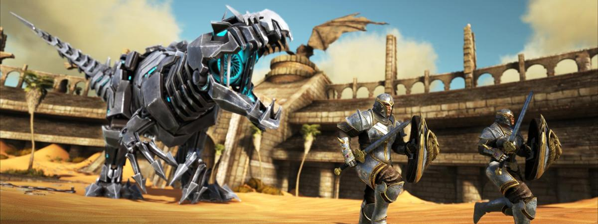 ARK: Survival Evolved Stomps onto the PlayStation 4!