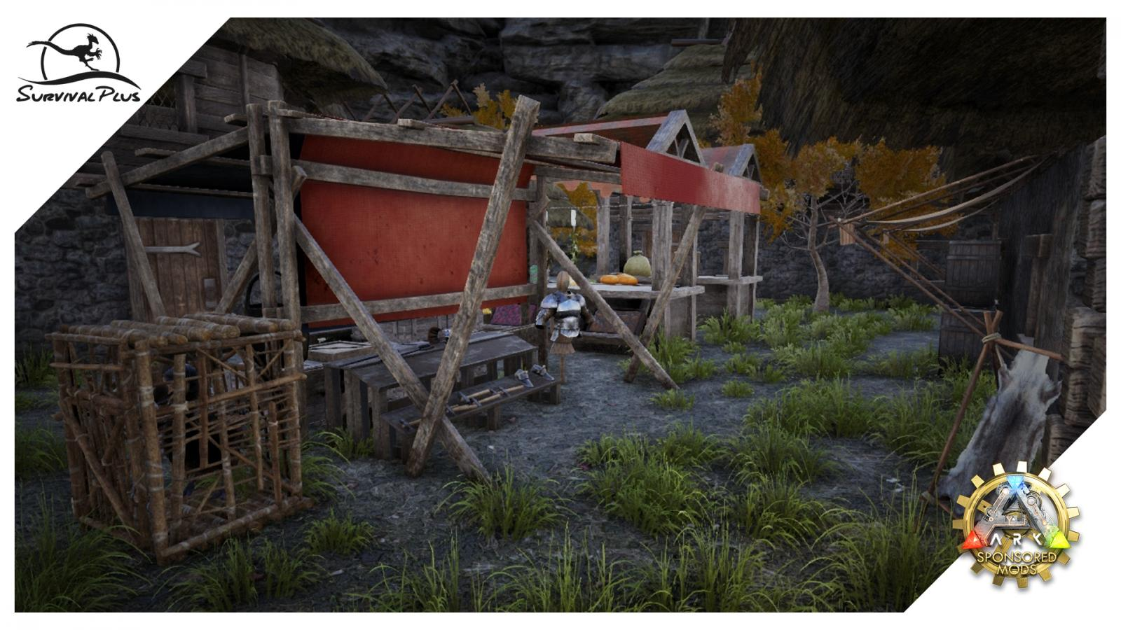 Take, For Instance, Some Of The New Additions To Survival Plus. Tao Has  Been Working On Several Visual Improvements To The Market Stalls And Adding  ...