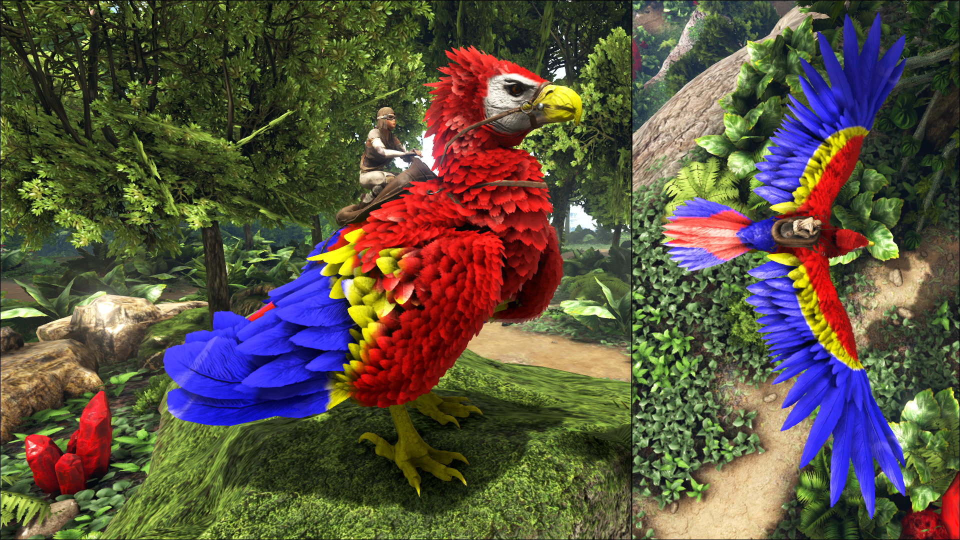 Community crunch 125 rideable moschops sponsored mod program red macaw argentavis by sharkcat malvernweather Image collections
