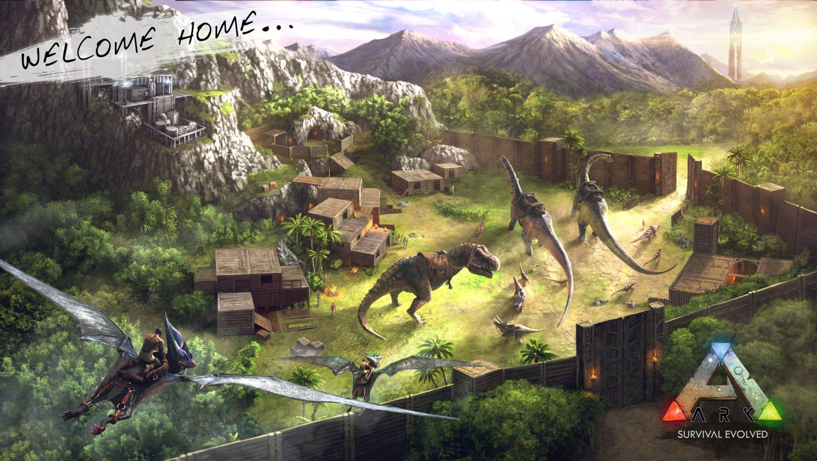 Welcome to the ARK, PS4 Survivors! – Jurassic Ark