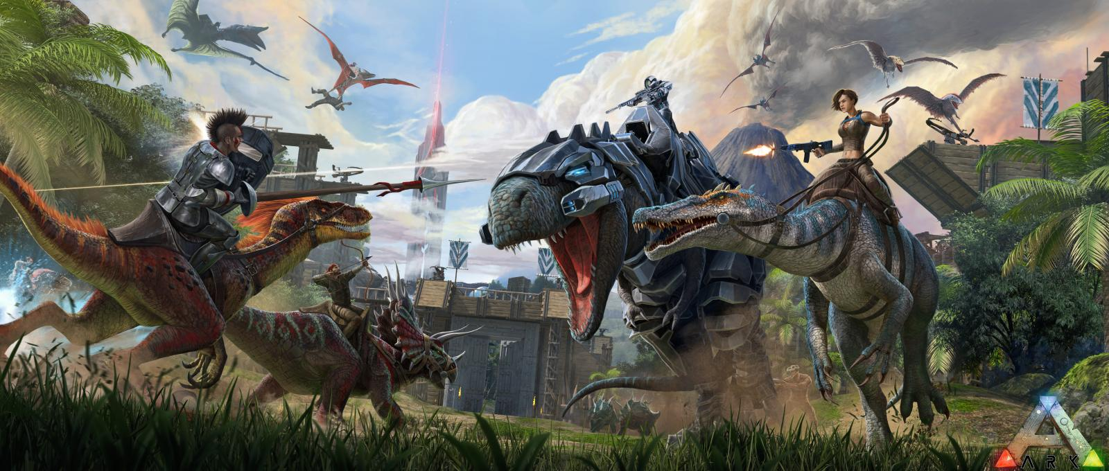 ARK: Survival Evolved, Available Now on Windows 10 with CrossPlay