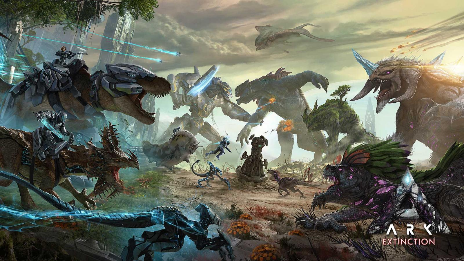 ARK: Extinction Expansion Pack Available Now! – Jurassic Ark